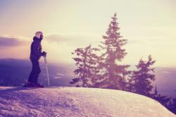 Zimní odpočinek na horách