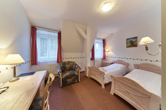 Standard Double Room for 1 person with Breakfast, FREE Wi-fi & Swimmspa